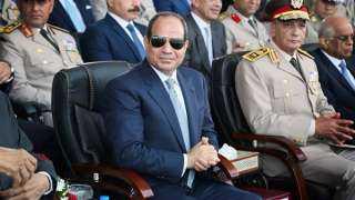 بدء حفل تخريج دفعات الحربية والعسكرية بحضور الرئيس السيسي (بث مباشر)