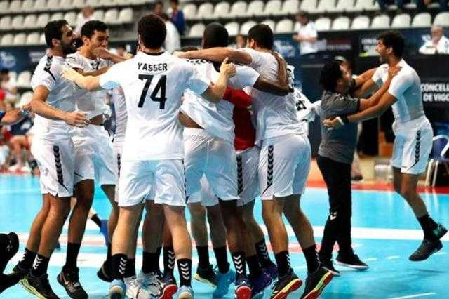 منتخب اليد يفوز على الجزائر ويتأهل لنهائي بطولة أمم أفريقيا