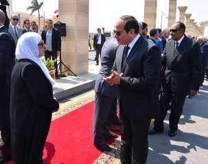 السيسى يتقدم جنازة رئيس أركان حرب القوات المسلحة الأسبق (فيديو)