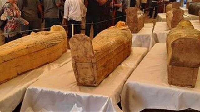 كشف سر جديد عن توابيت العساسيف الأثرية بالأقصر
