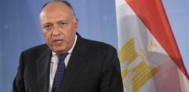 غدًا.. سامح شكري يلتقي المبعوث الأممي لليبيا
