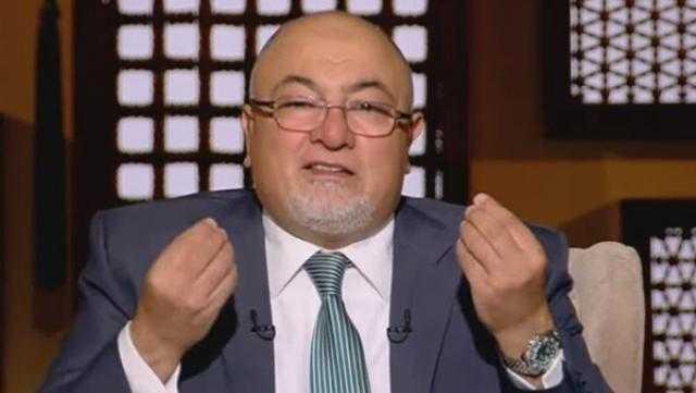 خالد الجندي: أنا ربيت لهم شنبي بيخافوا منه (فيديو)
