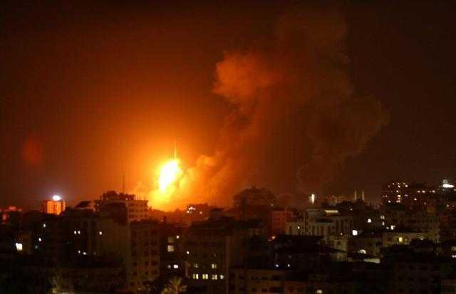 جيش الاحتلال يشن سلسلة غارات جديدة على غزة
