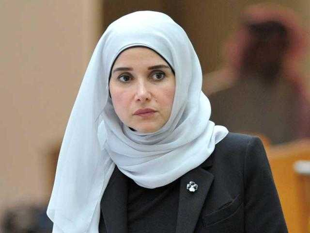 استقالة وزيرة أشغال الكويت من منصة مجلس الأمة