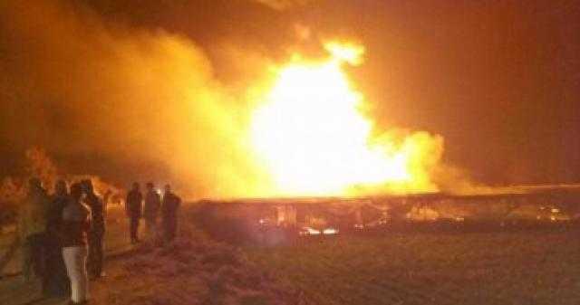 """أول تعليق من """"البترول"""" على حريق إيتاي البارود"""