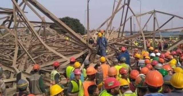 جروح قطعية وكسور.. مناظرة النيابة لجثامين عمال برج كهرباء أوسيم