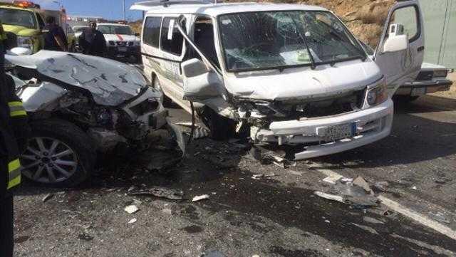 """3 قتلى و3 مصابين بـ حادث سير في """"وصلة دهشور"""""""