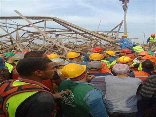 حبس مقاول و3 مشرفين في انهيار برج كهرباء أوسيم