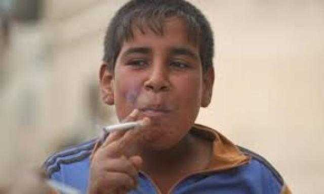 الإحصاء: 5.5 % من الأطفال المصريين مدخنين