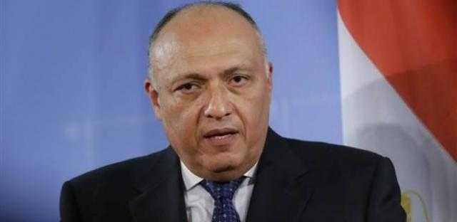 تفاصيل مباحثات وزير الخارجية ونظيره الإيطالي