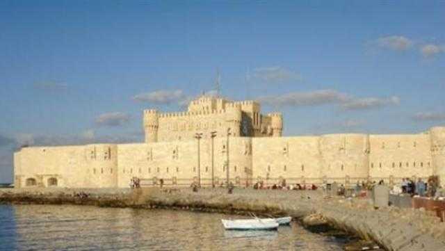 قلعة قايتباي تستقبل أعدادًا غير مسبوقة من الزائرين اليوم