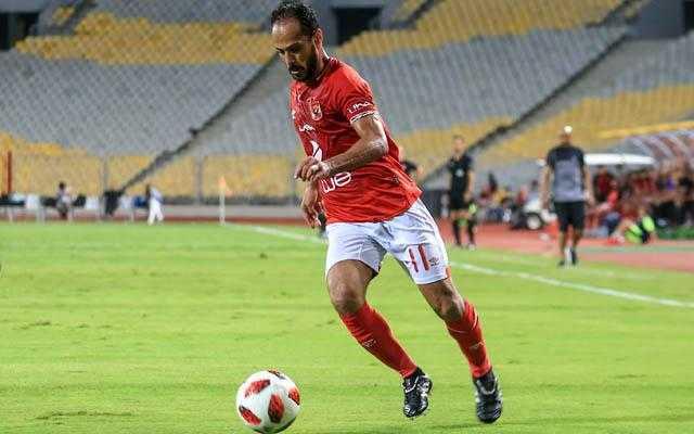 إصابة وليد سليمان في مران الأهلي قبل مواجهة صن داونز