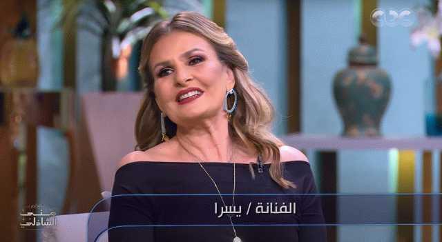 """يسرا عن مسلسل خيانة عهد: """"وقعت في غرامه"""" (فيديو)"""