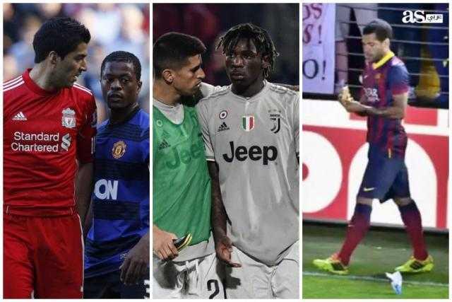 الوجه القبيح لكرة القدم.. تكرار حوادث العنصرية في ملاعب أوروبا