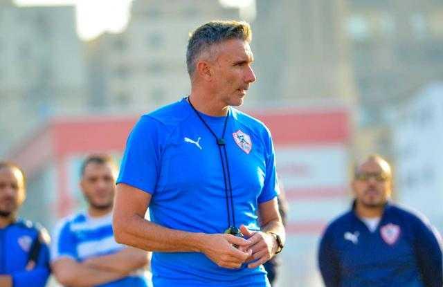 كارتيرون ينصح لاعبي الزمالك قبل مباراة المصري