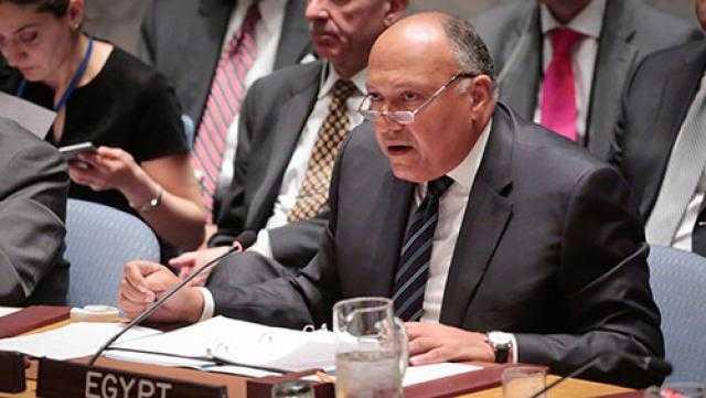 سامح شكري: نسير على الطريق الصحيح في مفاوضات سد النهضة