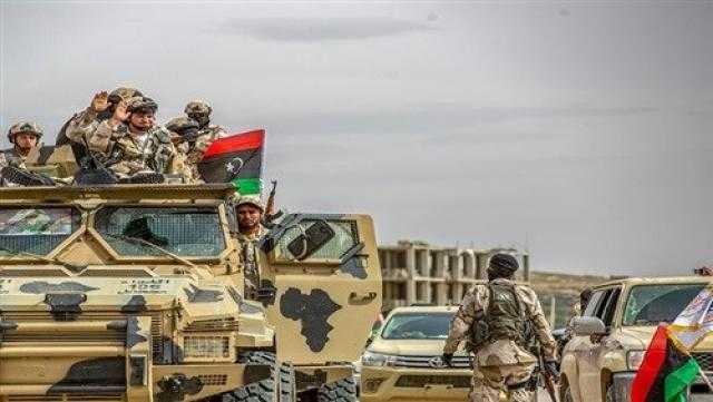 الجيش الليبي: تدمير سفينة أسلحة وذخائر تركية بميناء طرابلس (صورة)