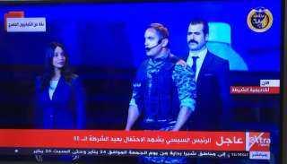 أمير كرارة يوجه رسالة للرئيس السيسي في احتفالية عيد الشرطة (فيديو)