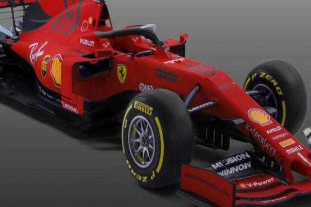 """فورمولا 1.. سيارة جديدة من """"فيراري"""""""