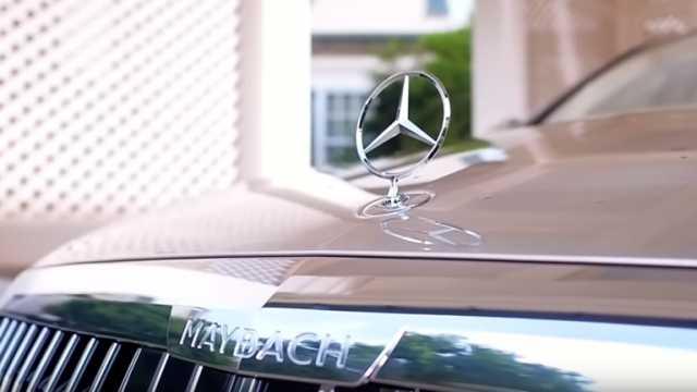 Maybach.. سيارة متطورة من مرسيدس (فيديو)