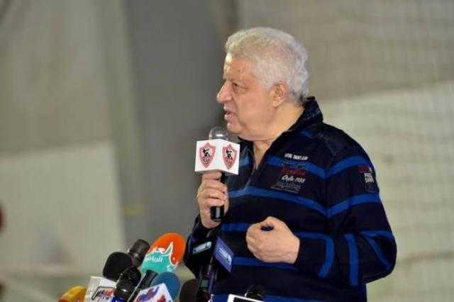 مرتضى منصور: الزمالك سيسافر إلى تونس بطائرة خاصة