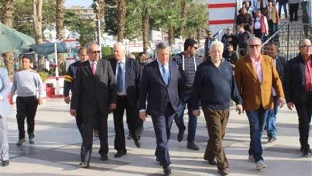 """مرتضى منصور يرحب بوفد الترجي: """"العلاقات المصرية التونسية قوية"""""""
