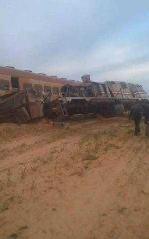 السكة الحديد: تشكيل لجنة فنية للوقوف على أسباب انقلاب قطار سيدي عبد الرحمن