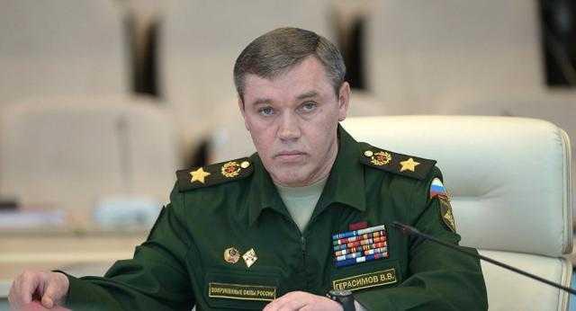 رئيس الأركان الروسي يبحث هاتفيا مع نظيره الأمريكي الوضع في سوريا