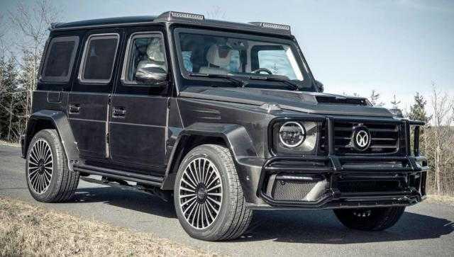 12 مليون جنيه.. مزايا سيارة G63 Armored المصفحة