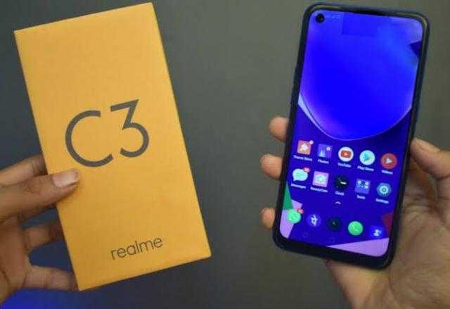 2190 جنيه.. مواصفات هاتفي C3 و 6i من realme في مصر