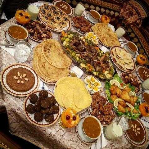 حكم الإسراف في إعداد الطعام في رمضان