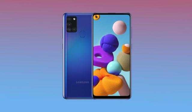 مواصفات هائلة لـ هاتف Galaxy A21s من سامسونج