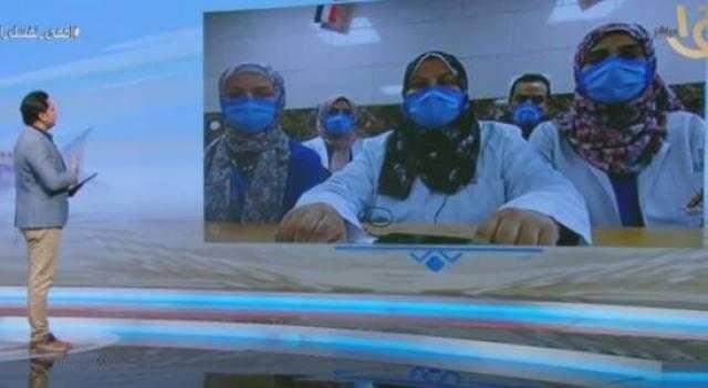 فيديو.. طبيبة مصرية تروي قصة تعافي مصابي فيروس كورونا