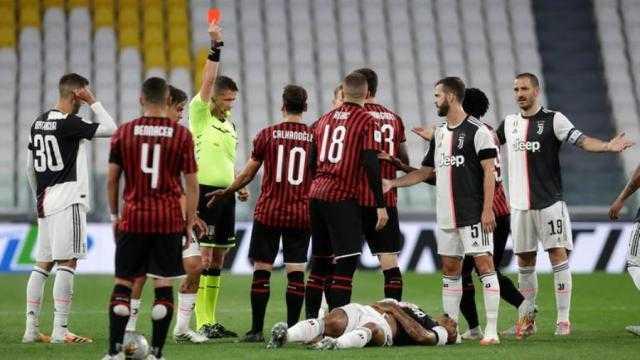 موعد مباراة ميلان ويوفنتوس في الدوري الإيطالي