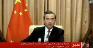 الصين: نطالب بوقف إطلاق النار في ليبيا