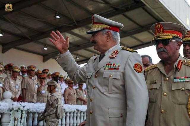 الجيش الليبي يدمر قاربا يحمل إرهابيين تابعين لمليشيات السراج