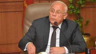 محافظ بورسعيد يدلي بصوته في انتخابات مجلس الشيوخ