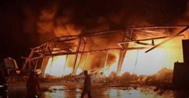 فيديو جديد لـ لحظات من انفجار مرفأ بيروت