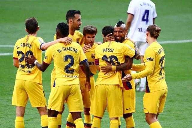 إصابة لاعب في برشلونة بفيروس كورونا