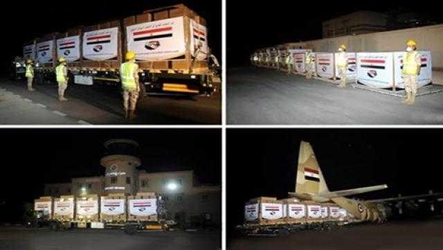 مصر ترسل مساعدات عاجلة لـ الشعب السوداني (فيديو)
