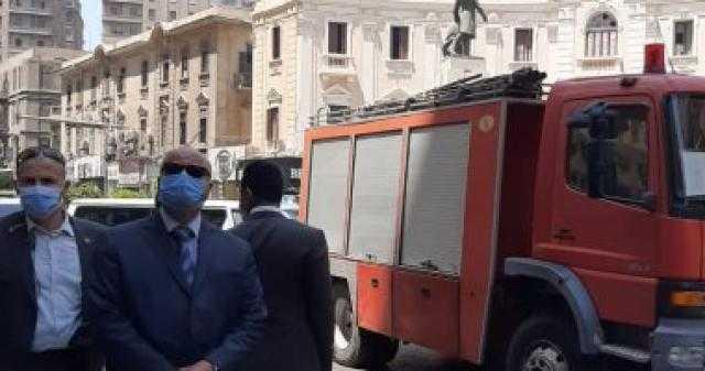 الحماية المدنية تنقذ حياة 18 مواطن قبل انهيار عقار (صور)