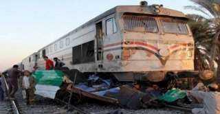 تفاصيل اصطدام قطار بسيارة نقل بالمنوفية