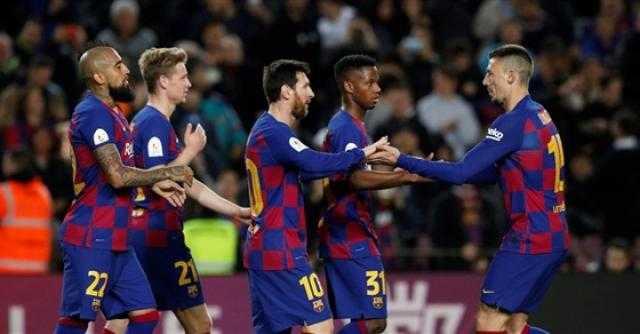 برشلونة ينهي الشوط الأول برباعية في مرمى فياريال بـ الدوري الإسباني