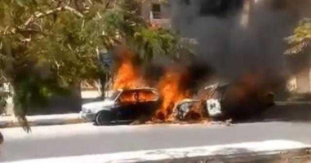 لـ عدم قدرته على الدخول بزوجته .. شاب يحرق سيارتين لدجال