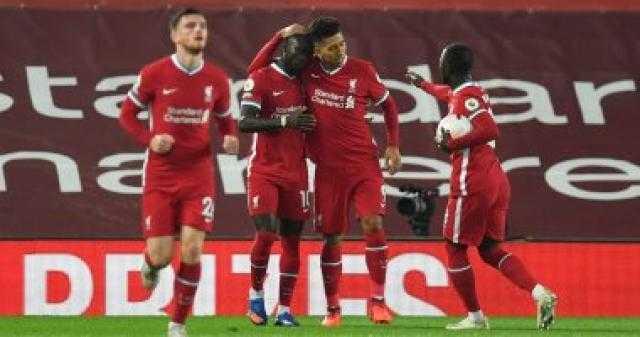 ليفربول يتقدم على أرسنال 2 - 1 بالشوط الأول فى الدوري الإنجليزي