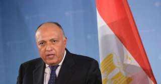 شكري: مصر ملتزمة بدفع الجهود الدولية لمكافحة الإرهاب (فيديو)
