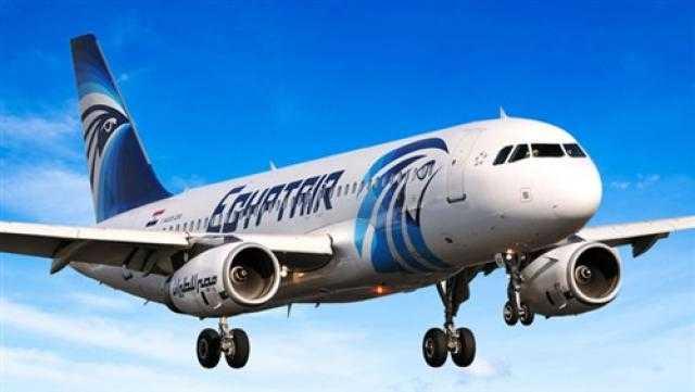 مصر للطيران تنقل 11 ألف راكب خلال 48 ساعة