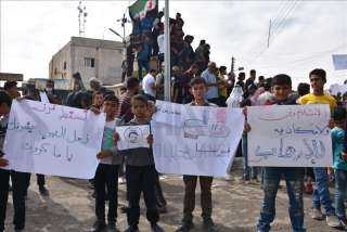 بعد تصريحات ماكرون المسيئة للنبي.. اندلاع احتجاجات بسوريا