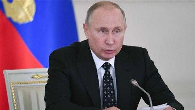 بوتين: عرقلة مشاريع الغاز الروسية محاولات للحد من تنافسية اقتصادنا