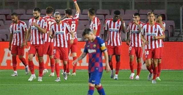 تحديد موعد قمة برشلونة وأتلتيكو مدريد